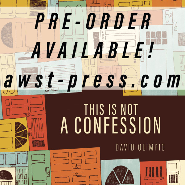 This Is Not a Confession. PRE-ORDER NOW!